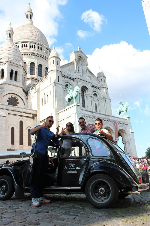 Midnight in Paris on Wheels Tour