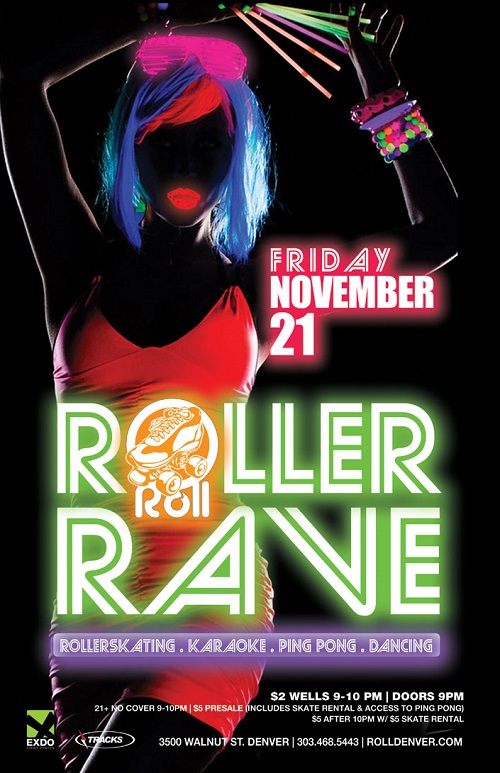 Roller Rave | Nov 21, 2014 | Denver