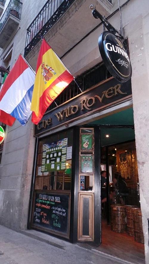 The Wild Rover Irish Pub in Barcelona