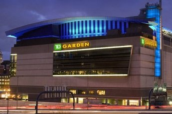 TD Garden Boston MA Party Earth