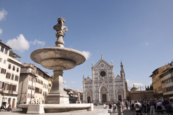 Piazza Santa Croce in Florence