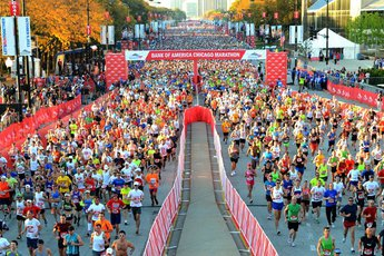 Chicago Marathon - Running in Chicago.