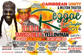 Reggae in Los Angeles 2014 - Festival | Concert in Los Angeles.