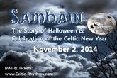 Samhain: A Celtic Halloween - Show | Performing Arts | Poetry / Spoken Word | Concert in Los Angeles.