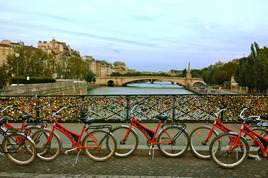Pont de l'Archevêché (Love Locks Bridge) - Landmark | Outdoor Activity in Paris.