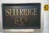 Selfridges - Shopping Area in London