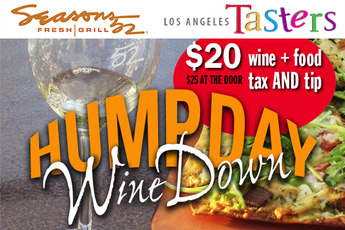 Hump Day Wine Down - Food & Drink Event | Wine Tasting in Los Angeles.