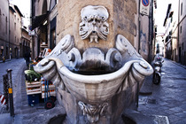Fontana del Buontalenti in the Oltrarno quarter in Florence.