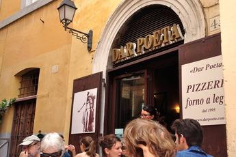 Dar Poeta - Italian Restaurant | Pizza Place in Rome.