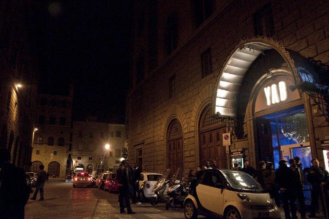 Outside of Yab in Florence.