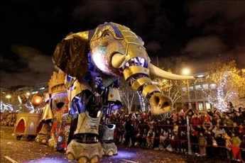 Cabalgata de los Reyes Magos - Holiday Event | Parade in Madrid.