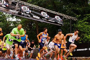 Boston 13.1 Marathon - Running in Boston.