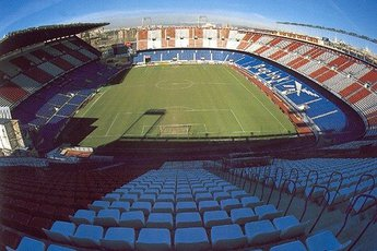 Vicente Calderón - Stadium in Madrid.