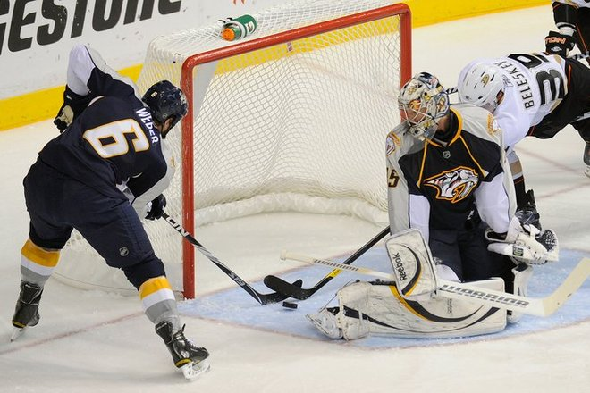 Photo of Nashville Predators vs. Anaheim Ducks