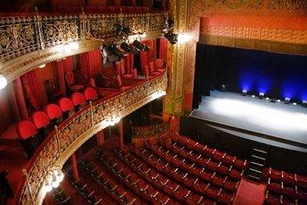 Teatro lara madrid party earth - Teatro coliseum madrid interior ...