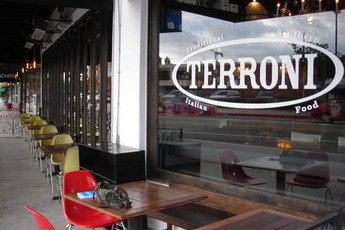 Terroni, Fairfax, Los Angeles | Party Earth on restaurant interior design los angeles, restaurant at lax airport, la bike paths map,