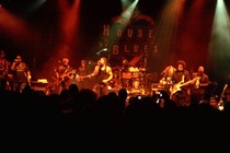 D&#x27;Angelo on stage at the House of Blues Los Angeles
