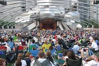 Jay Pritzker Pavilion - Amphitheater | Concert Venue in Chicago.