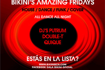 Amazing Fridays - Club Night in Barcelona.