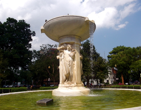 Dupont Circle, Washington, DC.