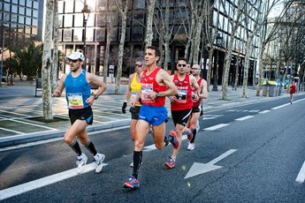 Barcelona Marathon - Running in Barcelona.