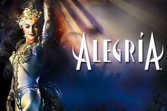 Cirque du Soleil -  Alegria - Show in French Riviera.
