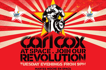 Carl Cox at Space - Club Night | DJ Event in Ibiza.