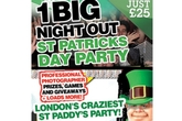 1 Big Night Out St. Patrick's Day Pub Crawl - Party | Holiday Event in London.