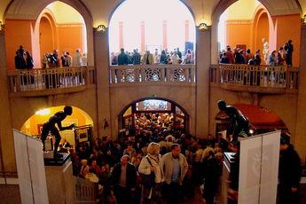 Long Night of Museums - Art Exhibit in Berlin.