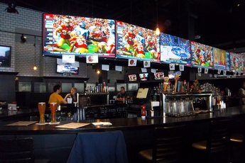 Joshua Tree sports bar in Boston.
