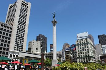 Union Square - Outdoor Activity | Park | Plaza | Shopping Area in San Francisco.