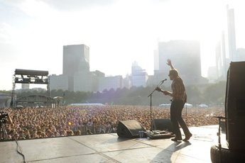 Lollapalooza - Music Festival in Chicago.