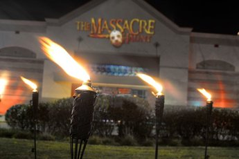The Massacre Haunted House - Holiday Event in Chicago.
