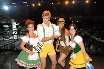 Oktoberfest at Alpine Village - Beer Festival in Los Angeles.