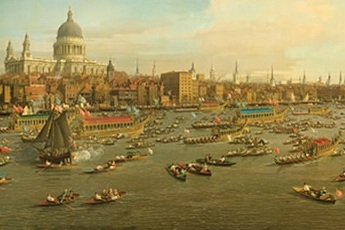 Royal River:  Power, Pageantry and the Thames - Art Exhibit in London.