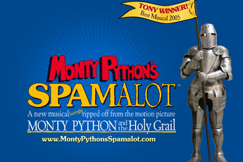 Monty Python's SPAMALOT in Los Angeles.