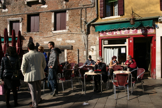 Photo Of Caff 232 Rosso In Venice 1 Of 8 Party Earth