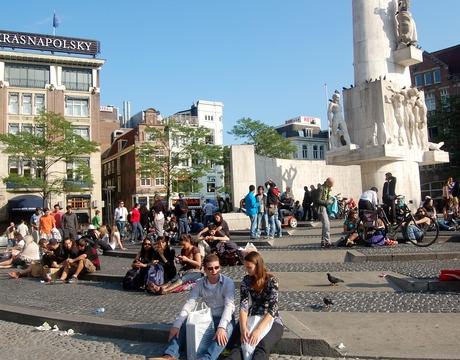 Dam Square, Amsterdam.