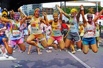 The Color Run 5K Brooklyn - Fitness & Health Event | Running | Party in New York.