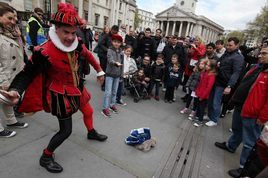 St. George's Day 2014 in London
