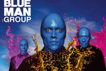 Blue Man Group - Show in Boston.