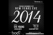 Bodi Nightclub NYE 2014 - Party | Holiday Event in Chicago.