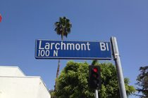 Larchmont Boulevard - Shopping Area in Los Angeles.