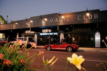 The Comedy & Magic Club - Comedy Club | American Restaurant | Club | Beach Club | Beach Bar in Los Angeles.