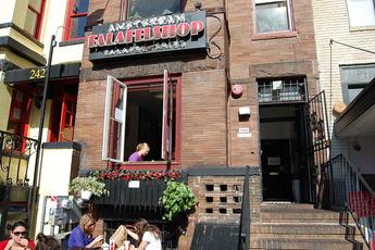 Amsterdam Falafelshop - Middle Eastern Restaurant in Washington, DC.