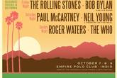 Desert Trip - Music Festival | Concert in Los Angeles.