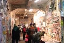 Tacheles - Culture   Nightlife Area in Berlin.