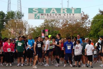 5K Mission City Run - Running in San Francisco.
