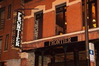Frontier - Bar | New American Restaurant in Chicago.