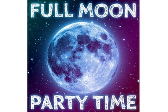 Full Moon Party - Club Night   DJ Event in Amsterdam.